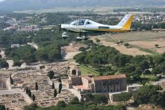 Volar en avioneta en la costabrava girona