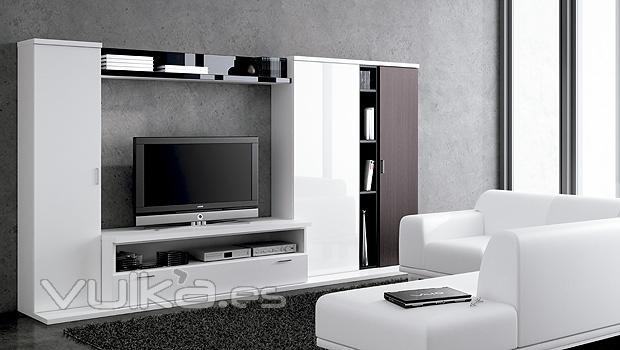 Foto muebles de salon comedor moderno del catalogo lun - Salon comedor moderno fotos ...