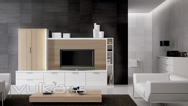Foto composicion de mobiliario de hogar en color blanco y for Mobiliario de hogar