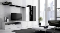Muebles minimalistas de salon lun