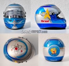 Personalizaci�n en casco de karting al gusto del cliente
