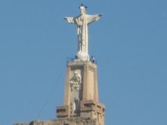 El santo de monteagudo.
