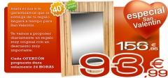 Espejo de pared vietnam de la marca fisura en adecorarmicasa