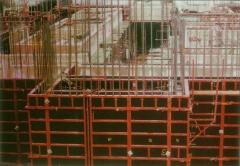 Encofrados modulares. r�pida ejecuci�n de muros y columnas en obra. alta durabilidad.