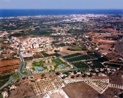 Documentos de planeamiento, urbanizaci�n y proyecto de edificaci�n en la xara - denia- vista general