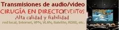 Cirugia en directo - instalacion y mantenimiento asi como venta de equipos para transmision de video