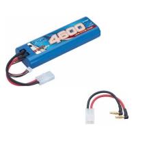 Bateria de lipo 7,4v-2600 mah 30c hyper pack multi conector lrp