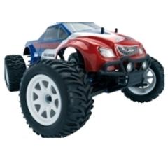 Coche monster truck s10 blast mt rtr 1/10 lrp rojo