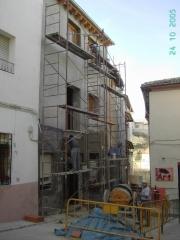 Rehabilitación de vivienda unifamiliar adosada en ontinyent. año 2005