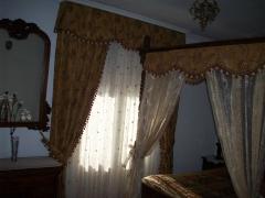 Habitacion cama con dosel