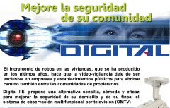Con omtv, digital i.e. pone a disposición de las comunidades de vecinos un sistema eficaz y versátil
