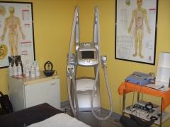 Cabina de fisioterapia estetica