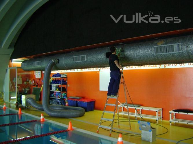 Foto limpieza de aire acondicionado conductos empresas for Empresas de limpieza en guipuzcoa