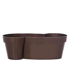 Maceta plastico forma marron en lallimona.com