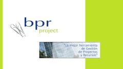 BPR Project: La mejor herramienta de Gestión de Proyectos y Recursos