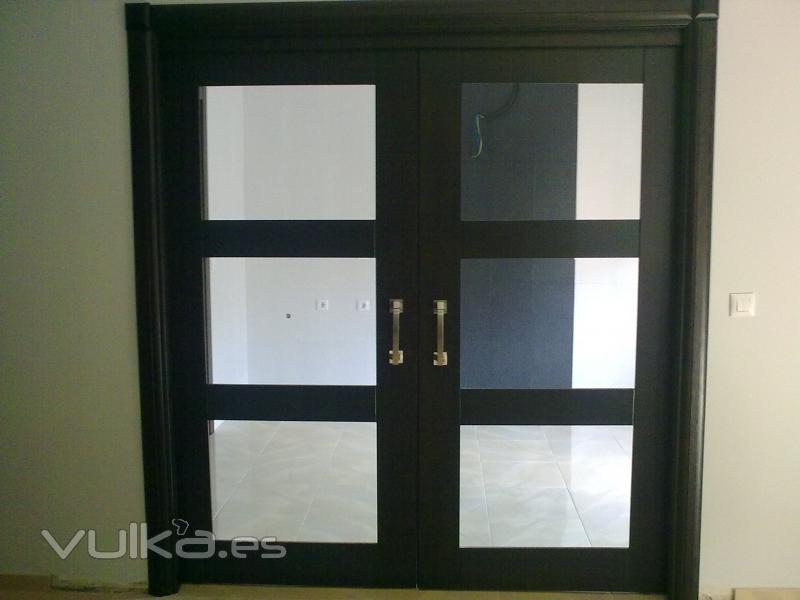 Foto puertas correderas de sal n - Puertas correderas de salon ...