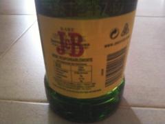 Whisky j&b 70cl 40% de alcohol