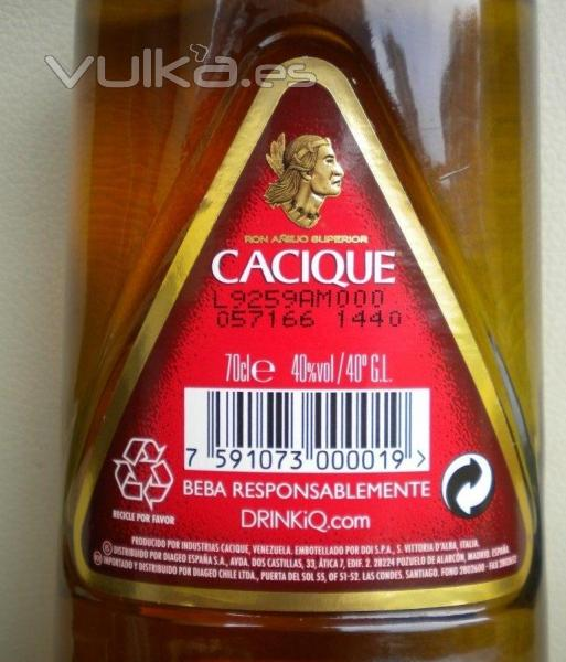 Ron Cacique 0,70cl