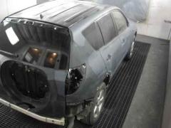 Reparacion de un vehiculo en el taller carrocerias la galana en vitoria-gasteiz