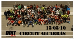 Curso de conduccion y tandas libres 2010 circuito de alcarras