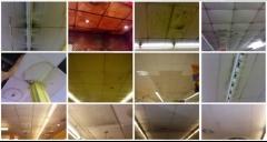Reestrene falso techo est� como est� a mitad de precio