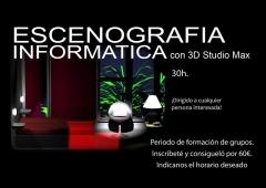 Curso de Escenografia con 3D StudioMax 30h.