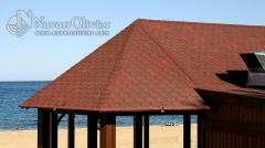 Acabado de chiringuito de madera playa garrucha