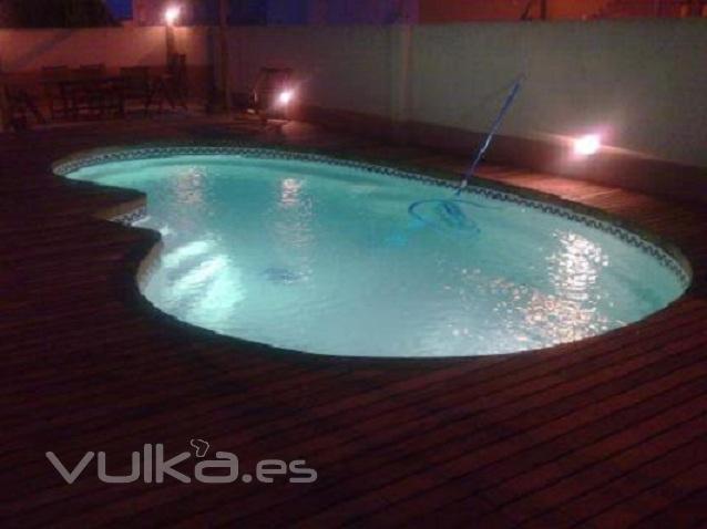 Esineinca division ingenieria for Proyecto piscina privada