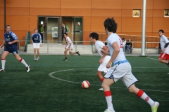 Partido de futbol estudiantes/profesores