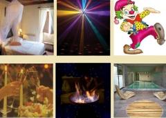 alojamiento rural- fiesta - animacion infantil- queimada- spa