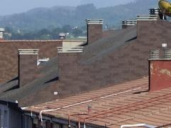 Rehabilitacion de cubiertas(lateral y chimeneas). tegola