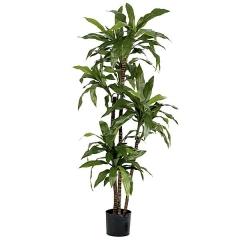 Planta artificial dracaena fragans 135 verde en lallimona.com
