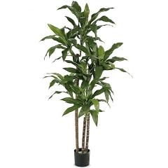 Planta artificial dracaena fragans 150 verde en lallimona.com