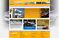 Web de Acromotor - Concesionario oficial de Renault y Dacia en Canarias (www.acromotor.com)