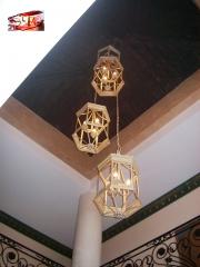 Decoraci�n en iluminaci�n forja arroyo (techo hnos. salces)
