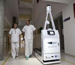 Robot celador. hospital rio hortega de valladolid.