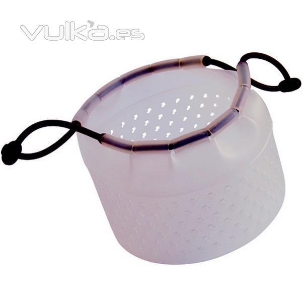 Foto cestillo de silicona para cocinar al vapor - Recipientes de silicona para cocinar al vapor ...