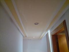 Paredes en blanco y techo dos tonos