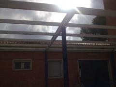 Estructura patio colegio 2