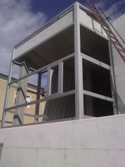 Mirador aluminio polideportivo campoamor alcantarilla