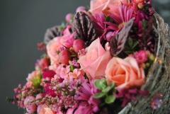 Ramo de novia en gama de rosas mayula flores