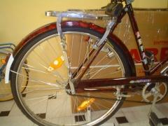 Detalle transportin bicicleta arpan en cicloclasic