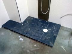 Sustitucion de ba�era por plato de ducha a medida, antideslizante. durante reforma