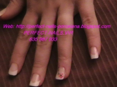 PERFECT-NAILS.VIR: SERVICIO A DOMICILIO DE U�AS DE PORCELANA EN SEVILLA CAPITAL Y EL ALJARAFE.