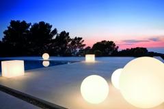 Iluminaci�n piscina