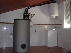 Instalaci�n solar acs 200 litros