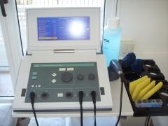 Modernos equipos de electroterapia