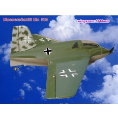 Avion messerschmitt me 163 (artf) jfc rc explosion gran escala