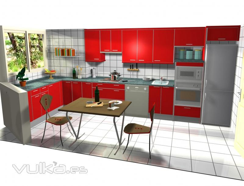 Gresidecor for Programa diseno cocinas 3d