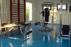 Gimnasio clinica dependencias
